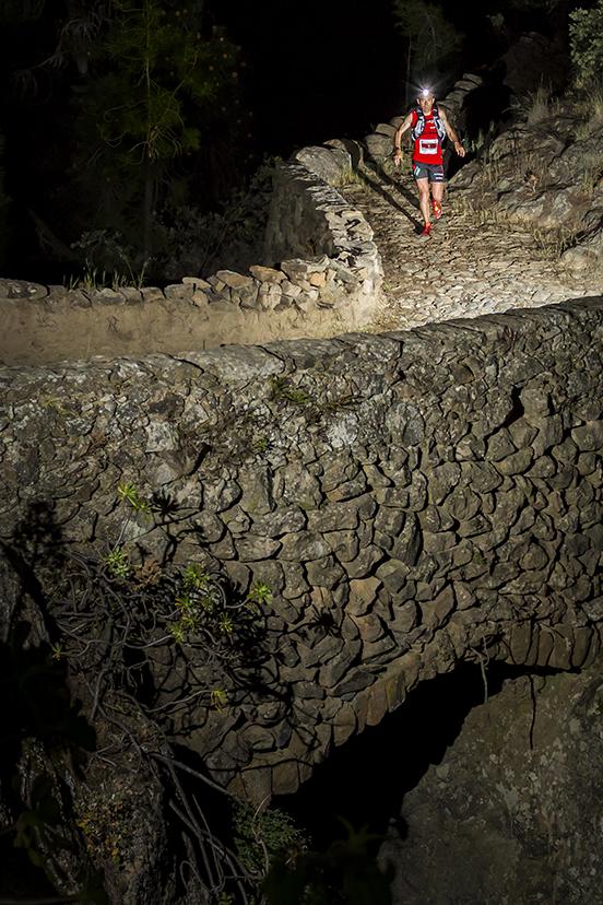 Miguel Heras en la Tenerife Bluetrail