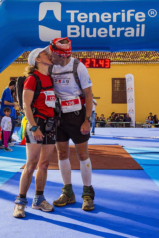 La Tenerife Bluetrail es dedicación, empeño, superación, camaradería, compañerismo, emoción y puro sentimiento.