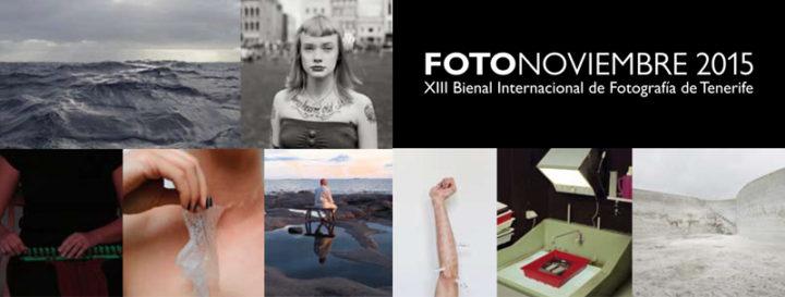Programa Expositivo de la XIII edición del Festival Internacional de Fotografía, FOTONOVIEMBRE 2015