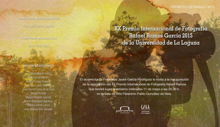Exposición XX Premio Internacional de Fotografía Rafael Ramos García