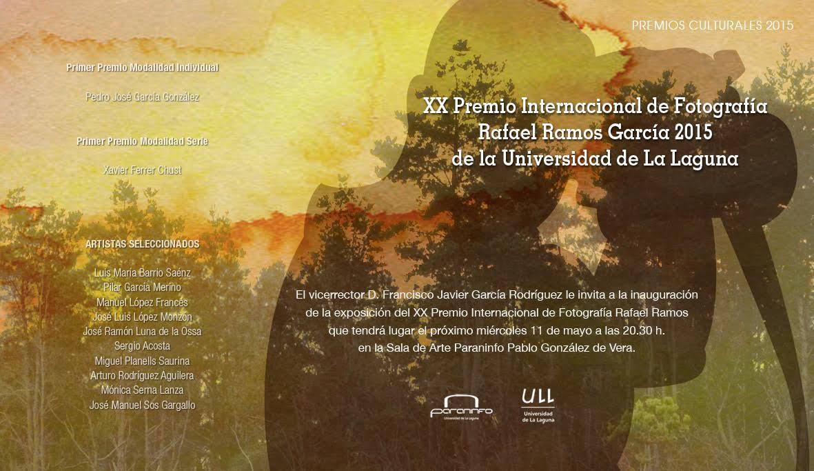 Exposición del XX Premio Internacional de Fotografía Rafael Ramos García