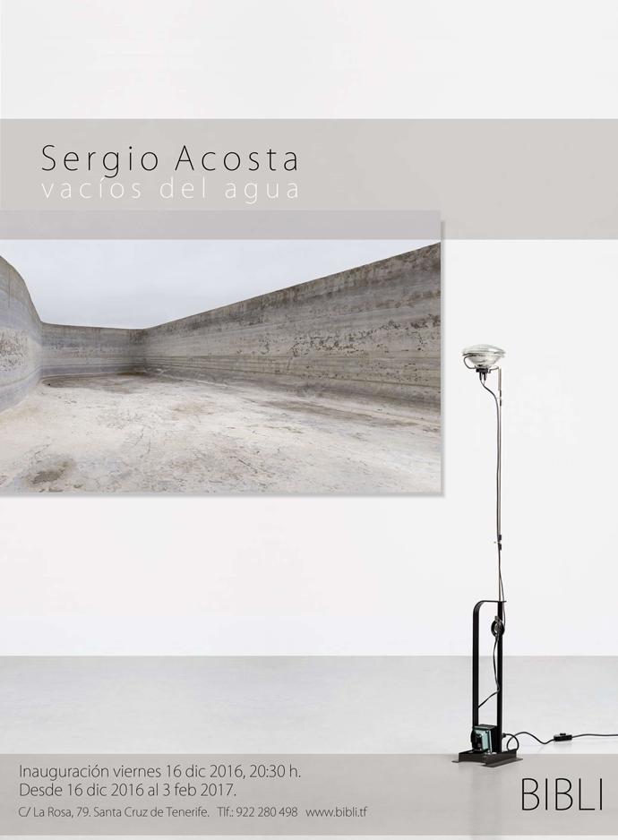 """Exposición """"Vacíos del Agua"""" del artista Sergio Acosta"""